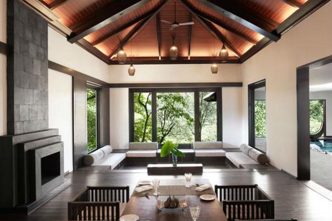Living Room Bliss Villa
