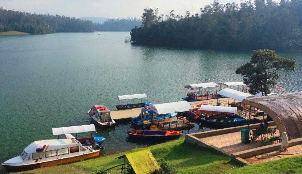 Ooty Lake Boat